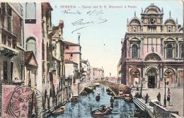 **VENETO**  -  VENEZIA Canal Del S S  Giovani E Paolo -TTB  écrite - Vicenza