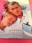 AZZARO  CHROME LIVRET - Perfume Cards