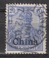 Chine -  Bureaux Allemands -  12 Obl. - Offices: China