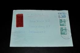 247- Umschlag/Schreiben Von D.D.R. Nach Barlusted - [6] République Démocratique