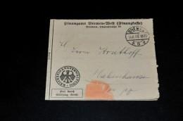 250- Mahnzettel Von Das Amtsgericht Bremen Nach Habenhausen - Allemagne