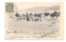 (12016-00) Algérie - Extreme Sud Oranais - Taghit - Une Caravane émigrant à L'approche Des Berabers - Algeria