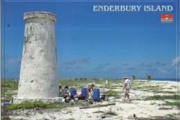 KIRIBATI, ENDERBURY ISLAND, ABANDONED LIGHTHOUSE  [2739] - Kiribati