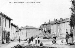 Cpa Apremont  ---  Rue De La Poste. - Altri Comuni