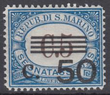 San Marino - 1940 - Segnatasse Sass. 61 ** MNH Ottima Centratura - Segnatasse