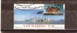 San Marino - Yv.2179 - Expo 2010 Shanghai - Obl/gest/used (à Voir)