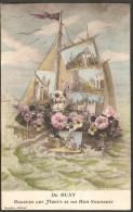 71 Buxy Recevez Ces Fleurs Et Un Bon Souvenir, Mulitivue, Goudon éditeur, - Autres Communes