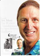 Australia 2010 Maxicard Scott #3210-#3211 Se-tenant Pair 55c Tim Winton - Maximumkarten (MC)