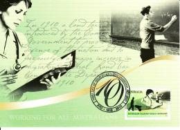 Australia 2010 Maxicard Scott #3336 60c Australian Taxation Office Centenary - Maximumkarten (MC)