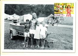 Australia 2010 Maxicard Scott #3352 60c Camping, 1960s - Cartes-Maximum (CM)