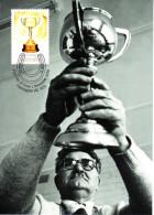 Australia 2010 Maxicard Scott #3378 60c Melbourne Cup Trophy - 150th Anniversary - Cartoline Maximum