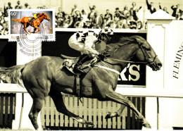 Australia 2010 Maxicard Scott #3381 60c 'Saintly' 1996 Winner - 150th Anniversary - Maximumkarten (MC)