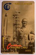 John Glenn Launch - Turks And Caicos Islands