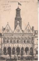 02SQT02B7 CPA 02 - ***2 CARTES*** 35. SAINT QUENTIN  HOTEL DE VILLE  1903 1905 - Saint Quentin