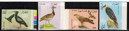 Algeria 1982 - Protected  Birds - ( 4v)  - Scott# 701/04 , Yvert# 772/75  - Imperforate Set , Margins - Superb ! - Canards