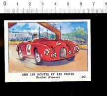 Chromo Chocolaterie De L'Union Gordini Rouge Auto De Course Voiture Automobile / IM 121/1 - Sigarette