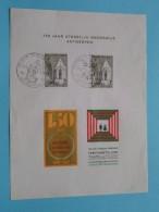 150 Jaar STEDELIJK ONDERWIJS 15-3-1969 / ANTWERPEN ( Zie Foto Voor/pour Détails ) !! - Cartes Souvenir