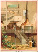 Chromo, Eléments Et Techniques: La Bière - Lithographie: Lith. Vieillemard Et Ses Fils - Trade Cards
