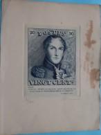 Gravé Pour Les Membres Du Club ROYAL PHILATELIQUE BRUXELLOIS à L'OCCASION Du 40me ANNIVERSAIRE De Sa FONDATION 1942 !! - Souvenir Cards