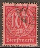 ALLEMAGNE   -   SERVICE  -   1922 .  Y&T N° 36 Oblitéré. - Officials
