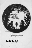 CONTRE LA LUMIERE ; Lutin Avec Son Violon , Paysans , Cigogne - Halt Gegen Das Licht/Durchscheink.
