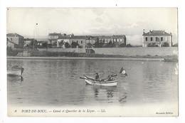 PORT-de-BOUC  (cpa 13)   Canal Et Quartier De La Lecque  -     - L 1 - Autres Communes