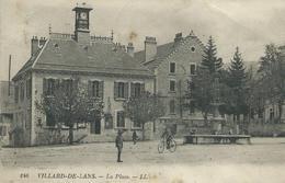 39,Jura, VILLARS-DE-LANS, La Place, Petite Animation,Scan Recto-Verso - France
