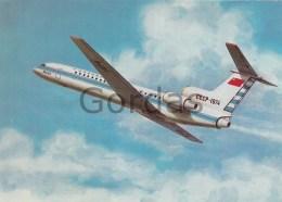 Russia - Aeroflot - YAK-42 - Dirigeables