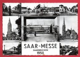 Saarbrücken. Saar - Messe 1950 Multi-vues. 1950 - Saarbruecken