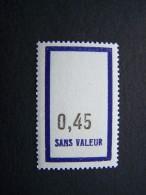 FICTIFS NEUF ** N°F148 SANS CHARNIERE (FICTIF F 148) - Phantom