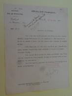 Ministere De La Guerre 27 Aout 1924 Demande De Promotion Signe Mr Raynaldy Ministre Du Commerce - 1914-18