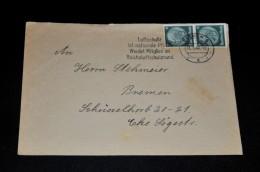 253- Umschlag Mit : Luftschutz Ist Nationale Pflicht. Werdet Mitglied Im Reichsluftschutzound - Allemagne
