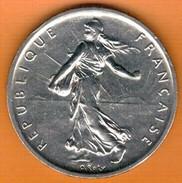 Nu-France -Semeuse, 5 Francs Argent, 1960 - France