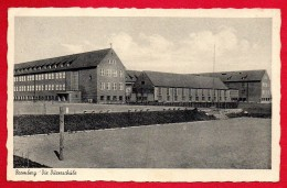 Pologne. Bromberg ( Bydgoszcz). Albrecht-Dürerschule.  Feldpost Bromberg  Août 1943 - Poland