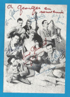 """(A269) Signature / Dédicace / Autographe Original De Bob Azzam Et Son Orchestre - """"Fais-moi Du Couscous, Chérie"""" - Autographs"""