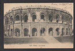 DF / 30 GARD / NÎMES / LES ARÈNES / CIRCULÉE EN 1904 - Nîmes