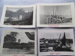 PHAN THIET  . 4 PHOTO DONT PECHEURS . 1951 - Cartes Postales