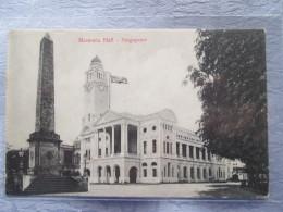 SINGAPOURE . MEMORIA HALL - Singapour