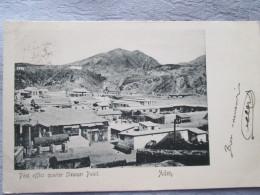 ADEN . POST OFFICE QUARTER STEAMER POINT . DOS 1900 - Yémen
