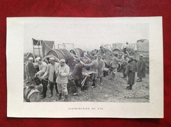 Alcool Distribution De Vin - Weltkrieg 1914-18