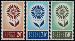 Cyprus 1964 Europa CEPT. Mi 240-242 MNH - Cyprus (Republic)