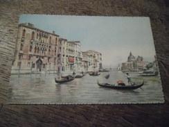 CPA De Venise (Venezia) - Canal Grande E Chiesa Della - Venezia (Venice)