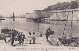 """29 FINISTÈRE CONCARNEAU  """"  La Ville Close Et Le Port De La Cale  """"  ND  N° 19 - Concarneau"""