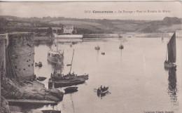 """29 FINISTÈRE CONCARNEAU  """"  Le Passage Pont Et Riviere Du Maros  """"  Villard   N° 3972 - Concarneau"""