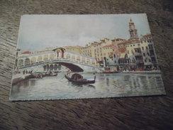 CPA De Venise (Venezia) - Ponte Di Rialto - Venezia (Venice)
