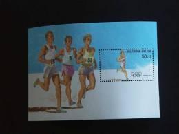 België Belgique 1988 J.O. Seoul Marthonlopers Marathon Yv 2287 COB Blok 64 MNH ** - Neufs