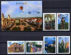 Cuba 2015 / Santiago City Centennial MNH Centenario Ciudad De Santiago / Cu1738  37 - Cuba