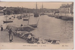 "29 FINISTÈRE PONT AVEN  "" Le Port ""  ND  N° 39 - Pont Aven"