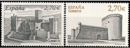 ESPAÑA 2009 - CASTILLOS. El Castillo De Arévalo Y El Castillo De Javier - Edifil Nº 4510-4511 - Yvert 4153-4154 - 1931-Oggi: 2. Rep. - ... Juan Carlos I