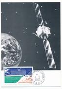 TAAF - Carte Maximum - Station Hydro-Acoustique OTICE - Albert Faure Crozet - 1-1-2003 - Brieven En Documenten